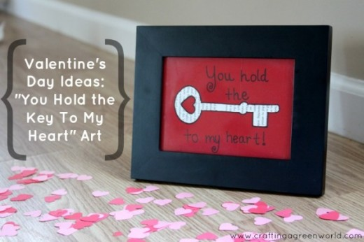 """You Hold the Key to My Heart"" art! 
