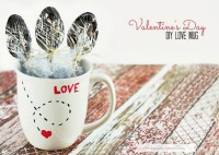 DIY Love Mug…for Valentine's Day! Project From The Picket Fence