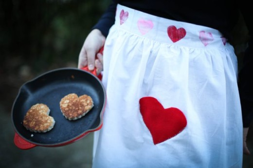 Heart Pocket Apron from Henry Happened