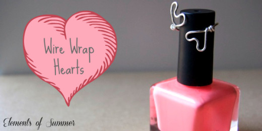 Wire Wrap Rings (hearts & roses) | Elements of Summer