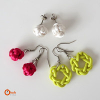 DIY knot earrings from Ohoh Blog – diy and crafts