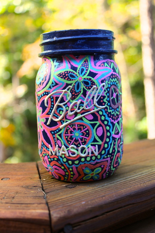 Cute Mason Jar Art