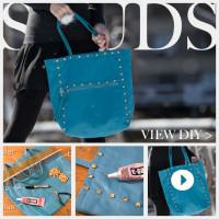 Studded Bag DIY