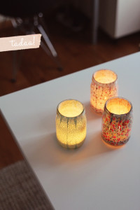 Sweet DIY Votives  » Fellow Fellow