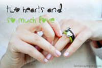 2 hearts in a ring Diy project | From Born in 82 – Fashion and Creativity  Blog