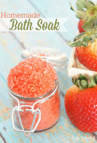 Bath Soak Tutorial: Make Your Own Spa-like Bath Product