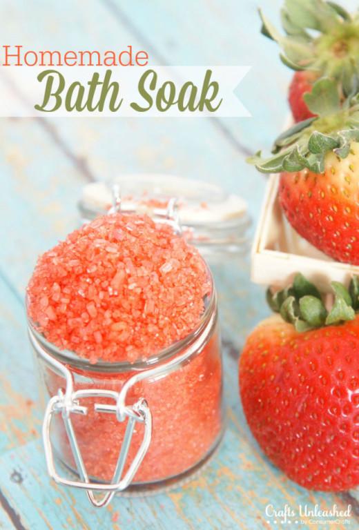 Bath Soak Tutorial: Make Your Own Spa-like Bath Product