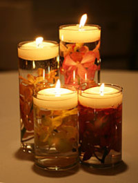 DIY Floating Candle From Bloggings of a Blondiegrl