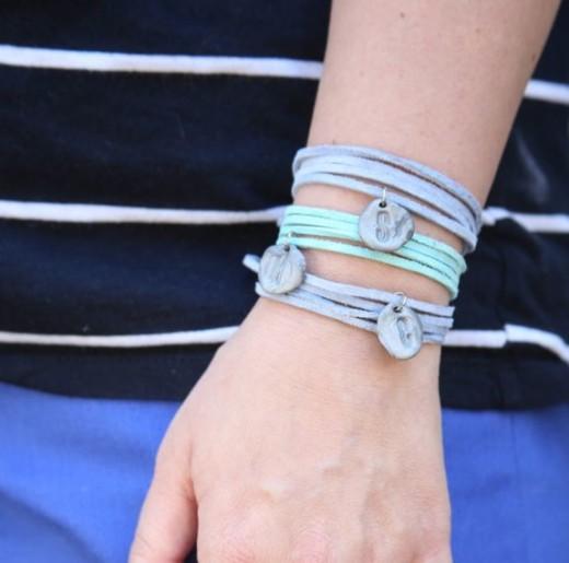 DIY Clay Charm Bracelet – Henry Happened