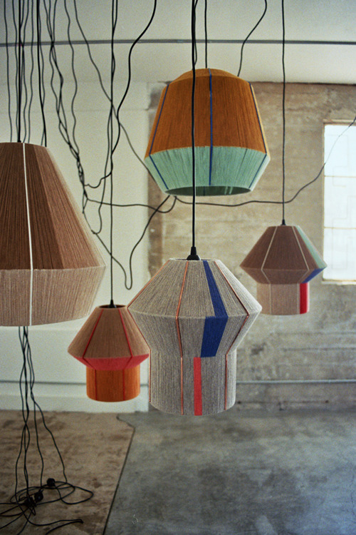 DIY Idea: Make String Covered Pendant Lights, decor, DIY