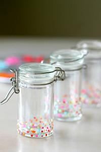 DIY Spice paint Jars