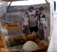 A Vacation Memory Jar | DIY Mothers Day Gift Idea from Echoes of Laughter: