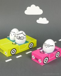 Egg People On The Road – Mr Printables