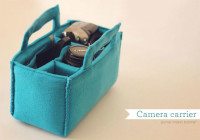 Camera carrier insert tutorial from How Joyful