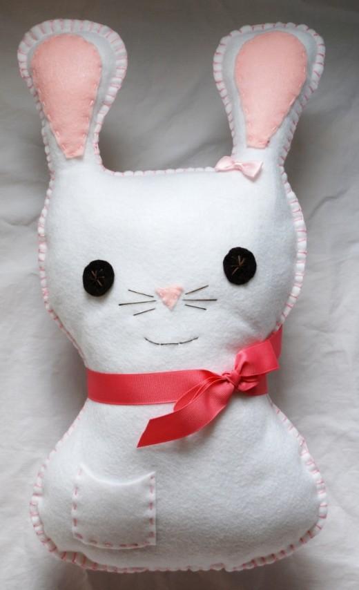 Bunny Pillow | DIY Easter Cratfs