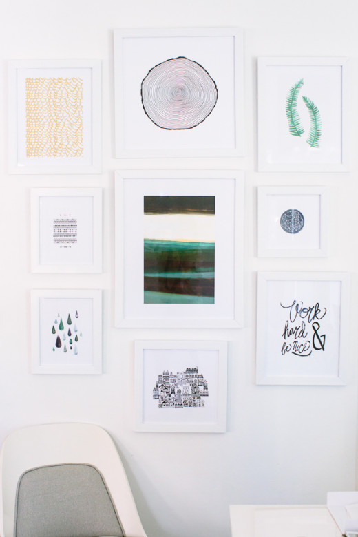 How to Create a Gallery Wall with Minted  |  Camille Styles