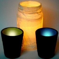 How to Make Pretty Tealight Candle Holders | Guidecentral