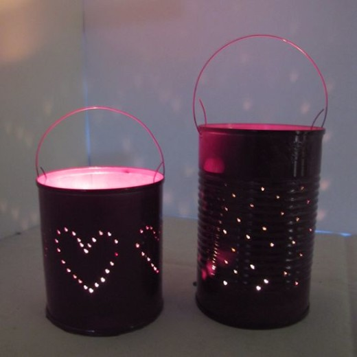 How to Make Pretty Tin Can Lanterns | Guidecentral