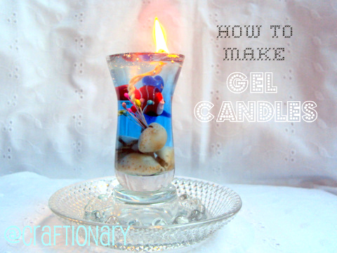 Make Easy Gel Wax Candle From Craftionary
