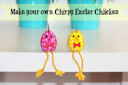 Make your own ~ Chirpy Easter Chickens « Handmade KidsHandmade Kids