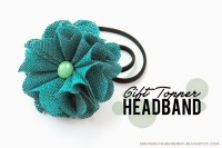 Minted Strawberry: DIY: Gift Topper Headband