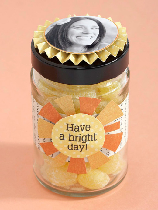 Rosette Candy Jar | Mother's Day Photo Gifts