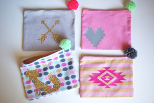 DIY super cute customized pencil cases.