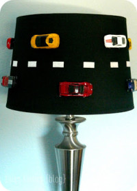 DIY Lamp Restyle