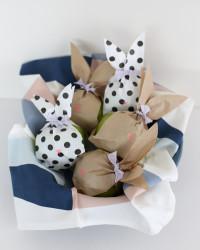 paper bunny fruit bags | a subtle revelry
