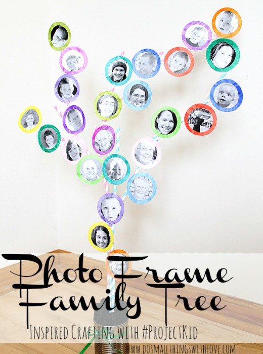 Photo Framed Family Tree | Great Mothers Day Gift