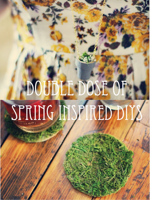 Double Dose of Spring DIYs! From Sincerely, Kinsey