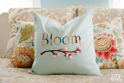 Spring Bloom Pillow Cover