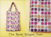 tutorial: basic rectangular tote