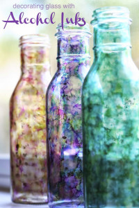 DIY Alcohol Ink Bottles