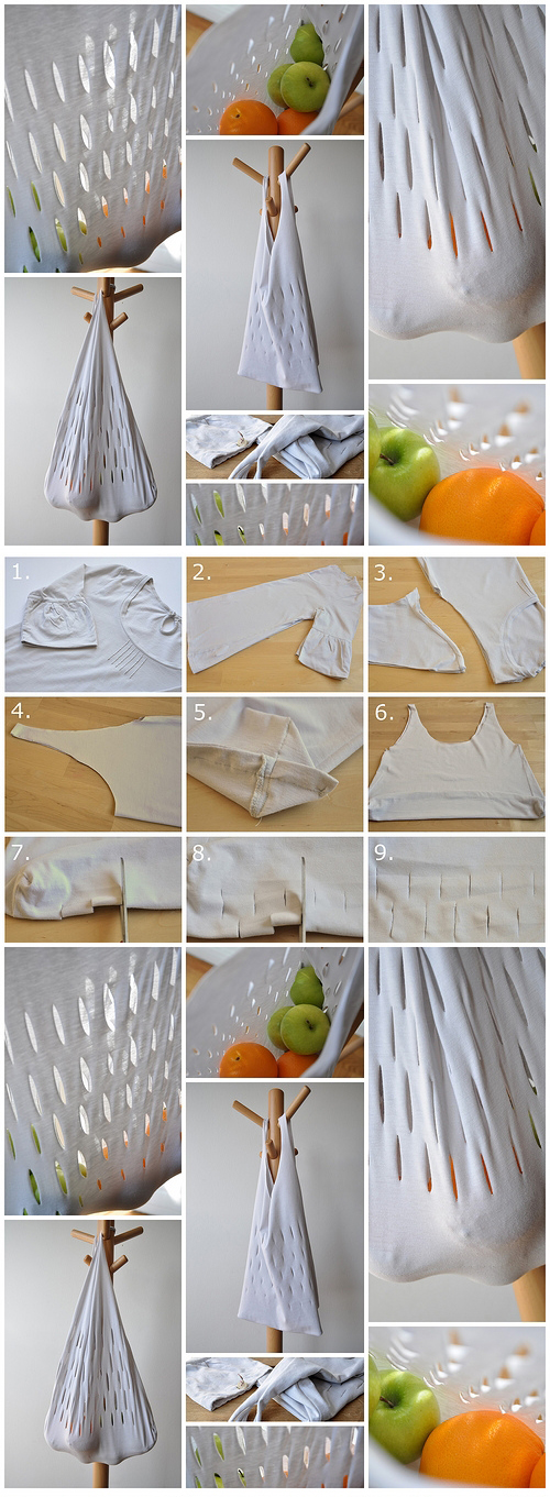 Quick fix grocery bag | DIY tutorial
