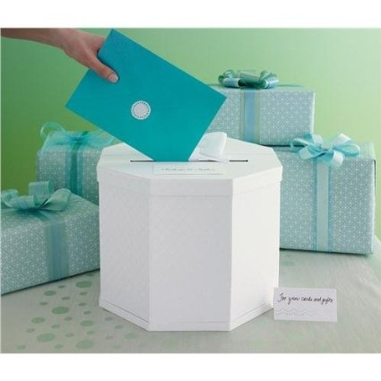 Martha Stewart Gift Card Box, White Eyelet