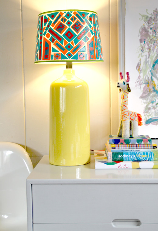 DIY lamp shade project | From Justina Blakeney Est. 1979