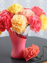 Paint Swirled Vase
