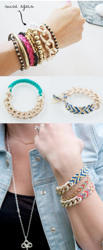 DIY Fashion-Forward Bracelets