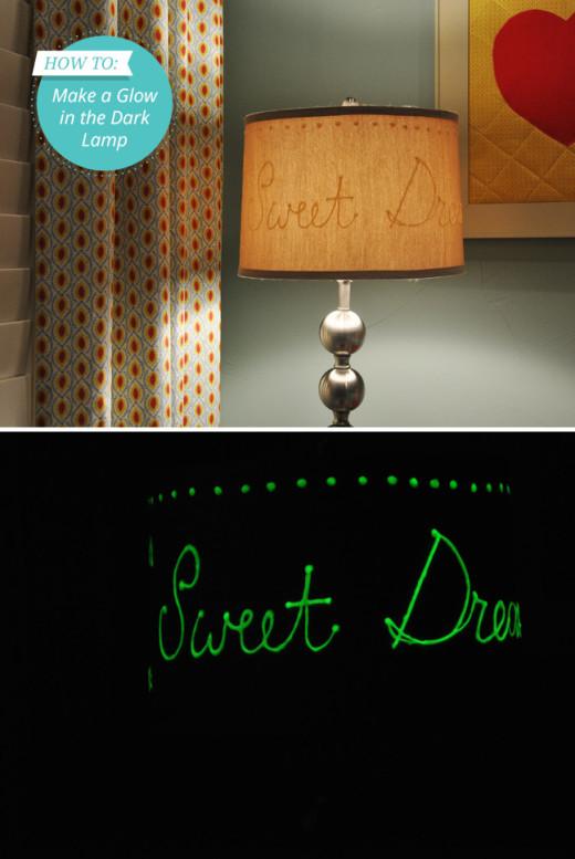 DIY Glow in the Dark Lamp   From Momtastic