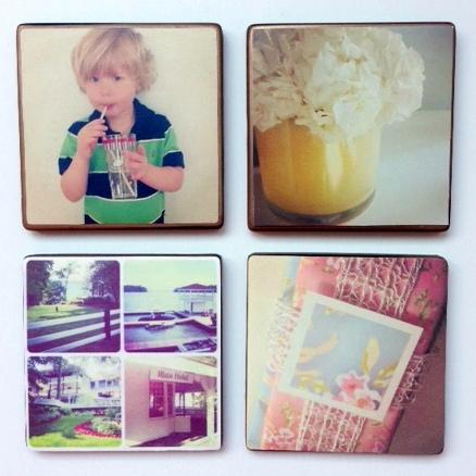 DIY Instagram Coasters  | From YummyMummyClub