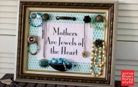 DIY Jewelry Rack: Mother's | From Jonathan Fong Style