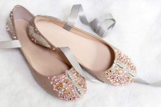 DIY: Nutcracker-Inspired Ballet Slipper From  M&J Blog