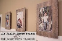 DIY Pallet Photo Frames with Mod Podge Photo Transfer | Southern Revivals