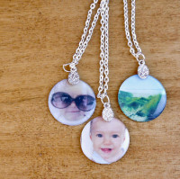 DIY Photo Pendants – cute and easy