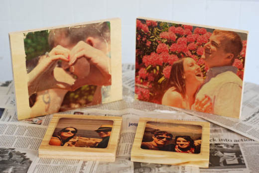 DIY Photo Transfers on Wood