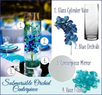 DIY Submersible Mother's Day Flower Centerpieces