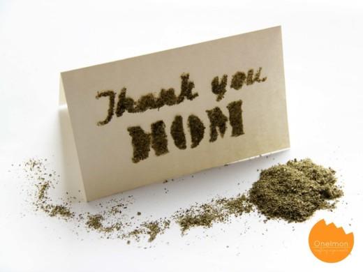 DIY Tea Text – organic text made from tea leaves | onelmon