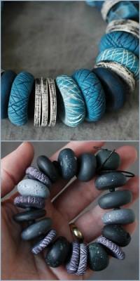 DIY Beyond Easy Textured Polymer Beads
