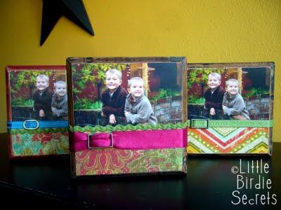DIY Easy photo blocks & tiles | From Little Birdie Secrets
